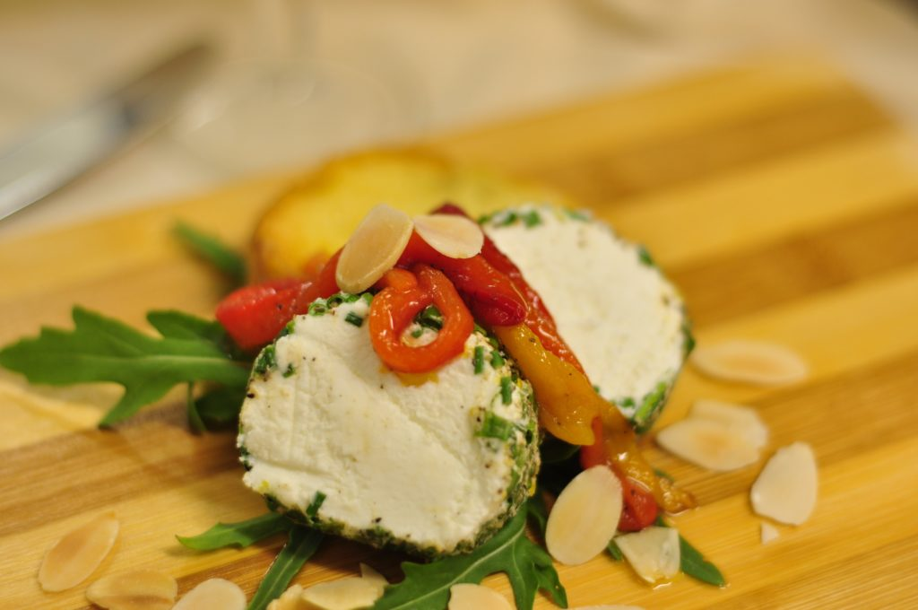 Goats Chevre - photograph by Chef Carl Moller