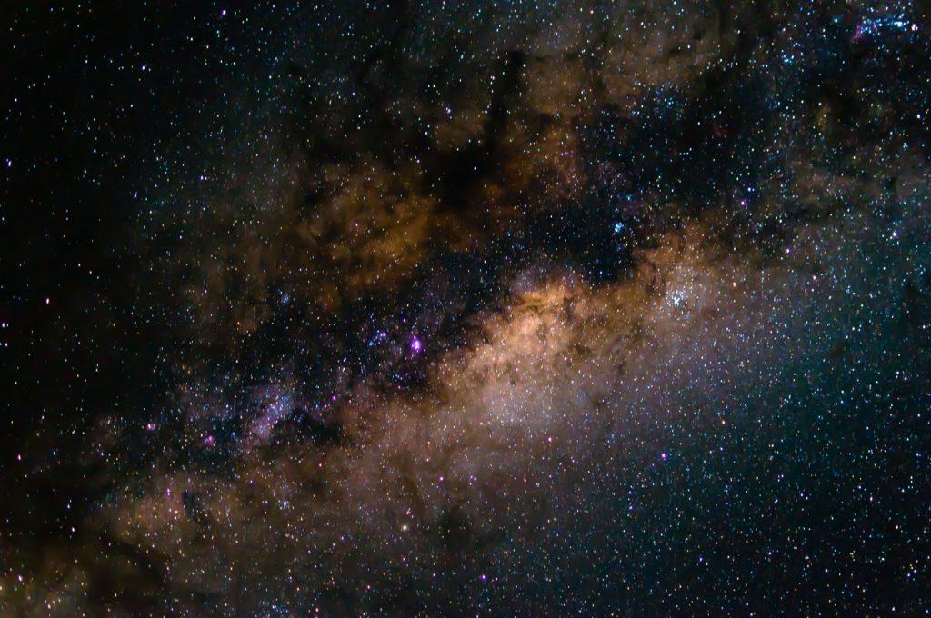 Thonga night sky - photograph by Carl Moller