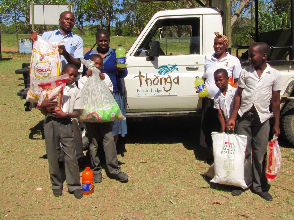 Thonga Beach Lodge supports the local Mabibi Primary School
