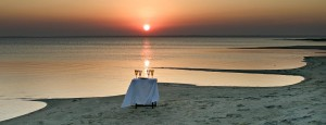 Beach Honeymoon - Sundowners at Thonga