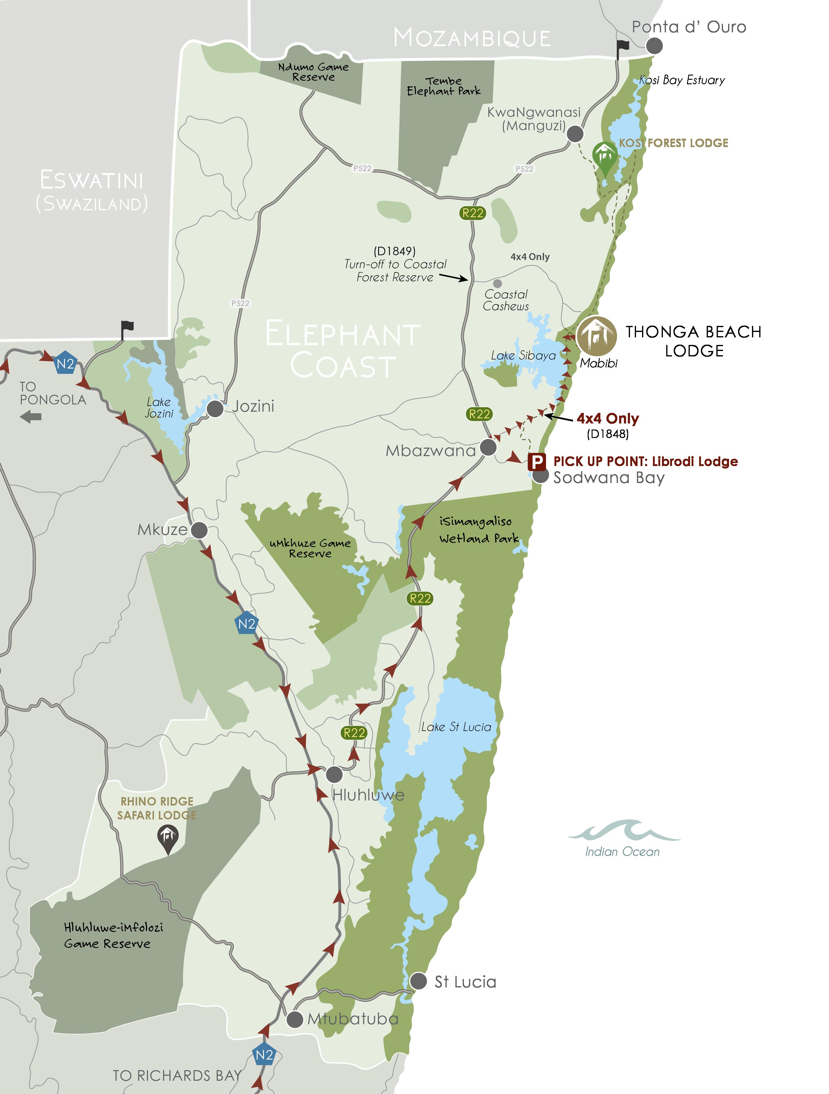 IAL MAPS - iSimangaliso_TBL WEB_Hluhluwe via Sibaya
