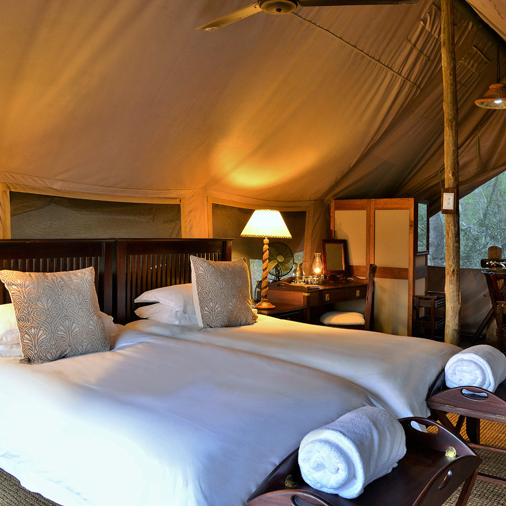 Luxurious Tented Accommodation At Plains Camp