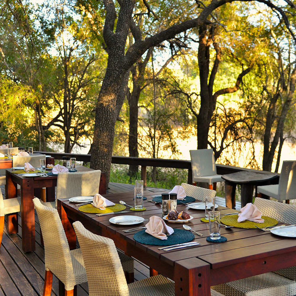 Rhino Post Dining Deck