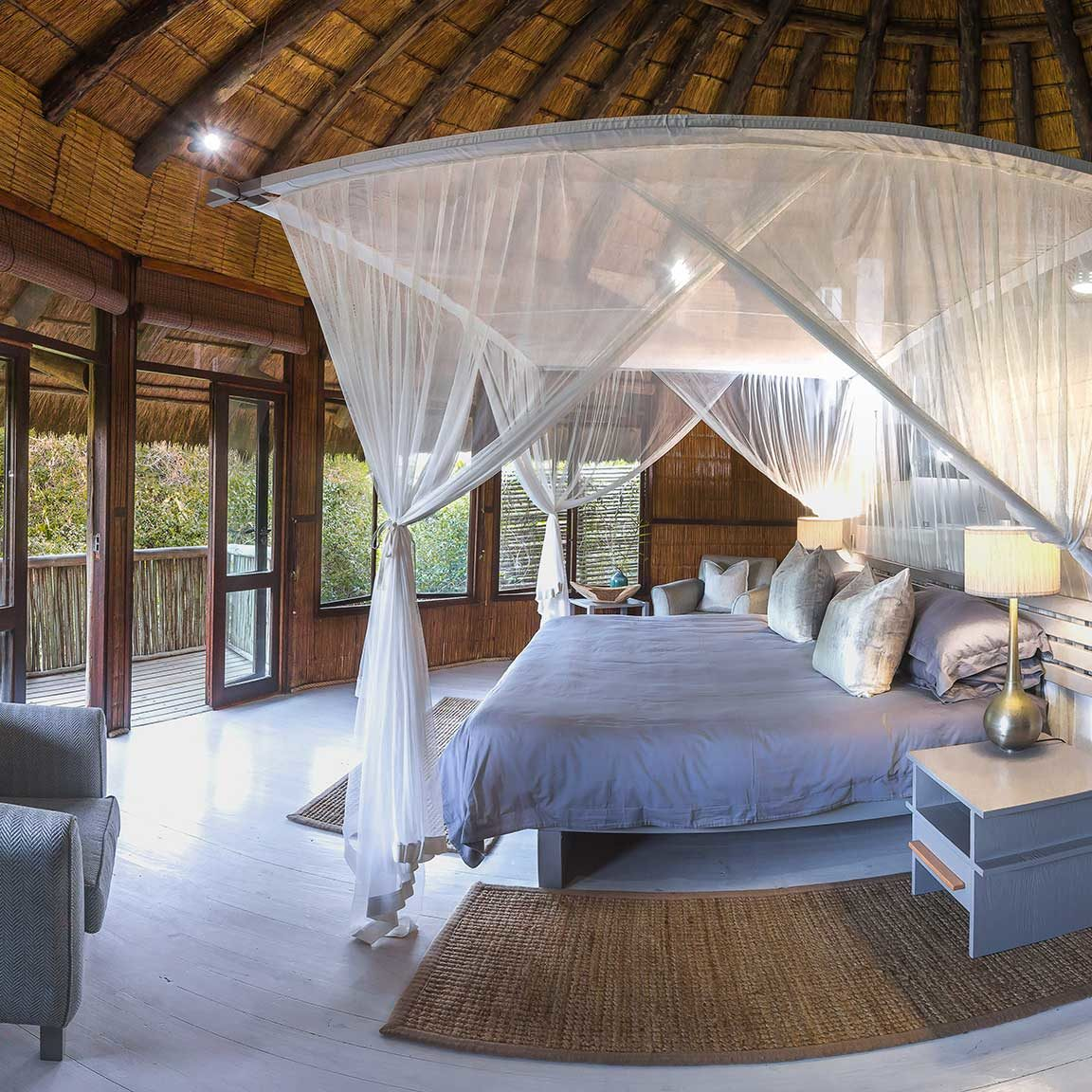 Tonga Beach Lodge Bedroom